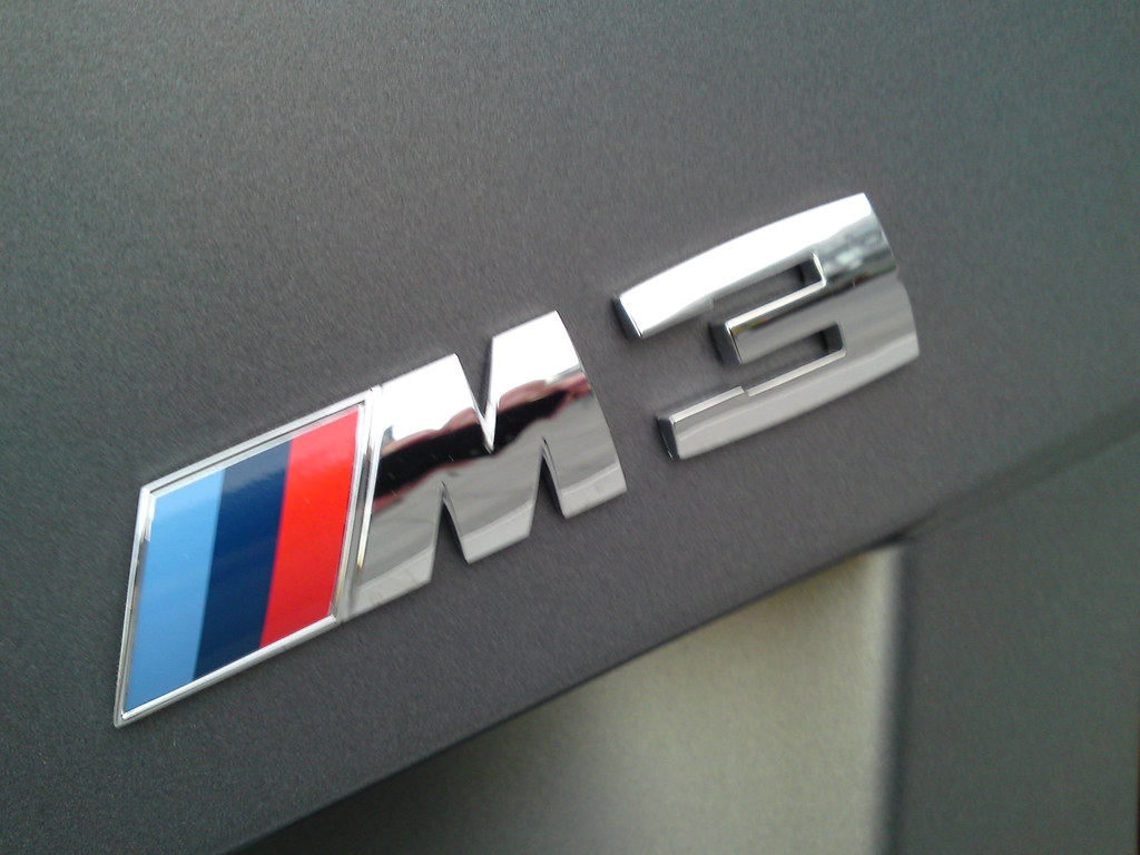 M3 Logo  A BMW M3 Logo macro shot from the new 2011