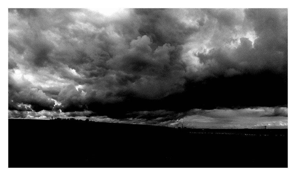 Dark Clouds  View large on black  Per Olesen  Flickr