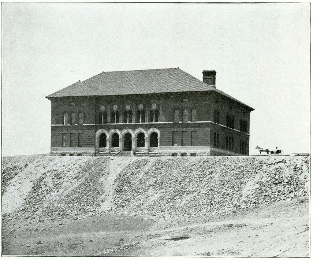 School of Mines Montana Tech Butte Montana 1900
