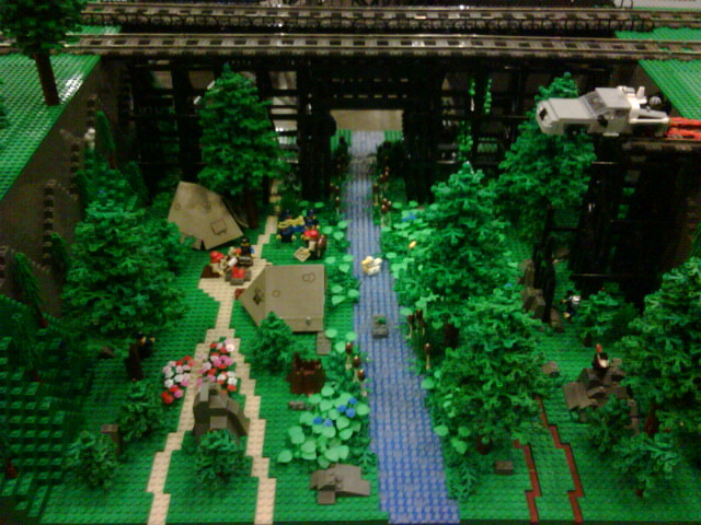 Lego Forest I Love The Cattails Hahaha Sent Via