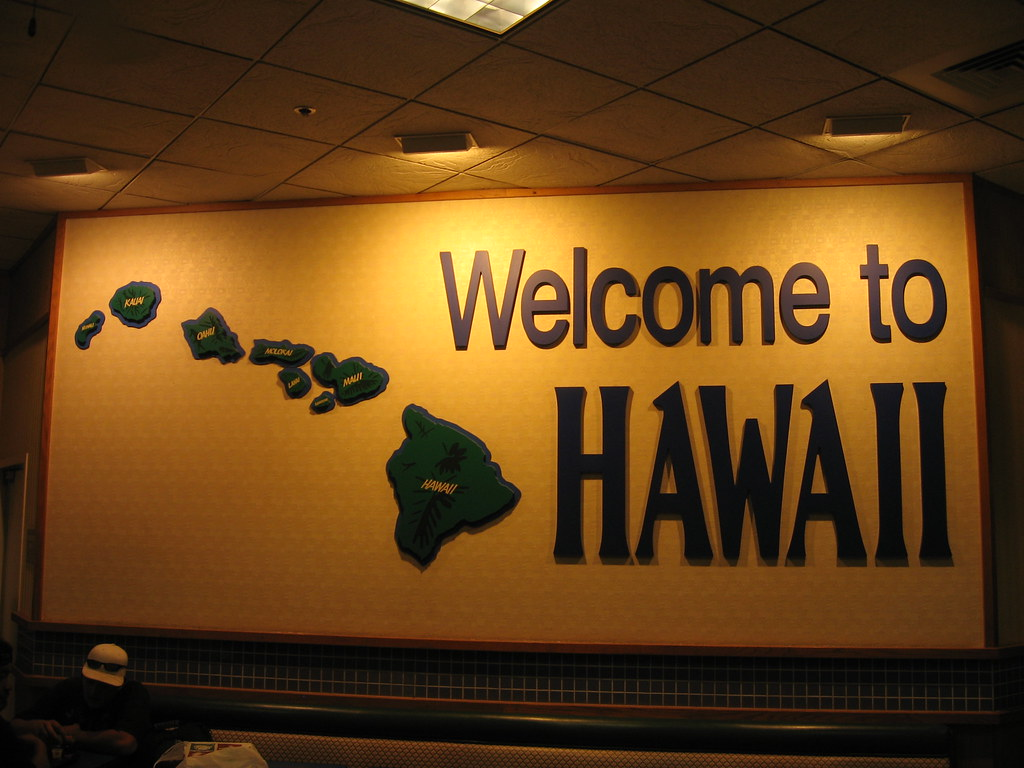 Welcome to Hawaii Honolulu International Airport  This