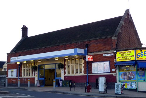 Manor Park station  Station Code MNP Lines and