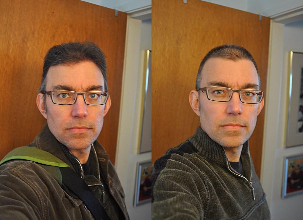 Buzz Cut Before And After Derek K Miller 1969 2011