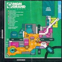 Mgm Grand Guest Map Opening Year Of Hotel And
