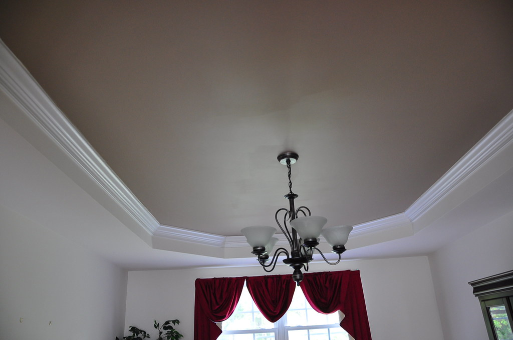 tray ceiling with crown molding  wwwthefinishingcompany