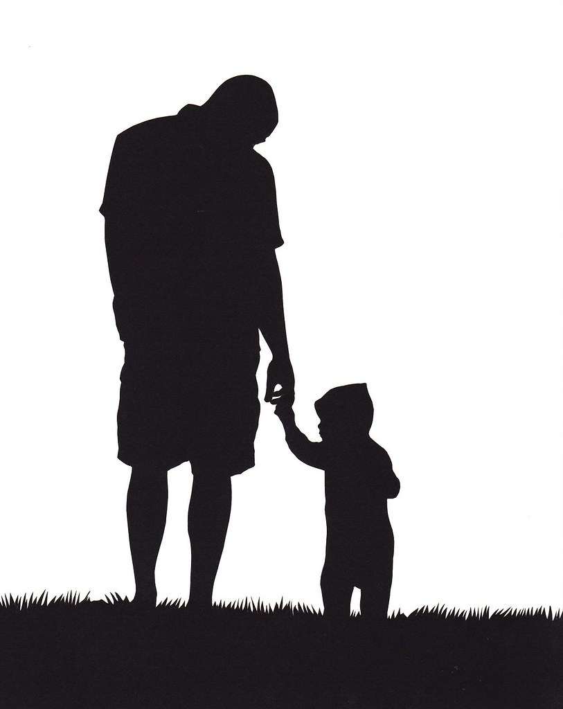 father and son silhouette  Happy Fathers Day  Jenny Lee Fowler  Flickr