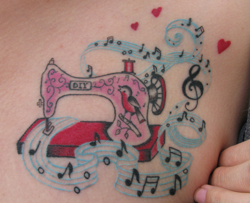 20 Girly Tattoo Machine Tattoos Ideas And Designs
