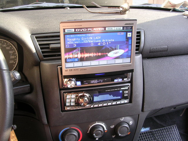 Fiat Stilo Interior Dvd Player Mp3 Tibi Flickr