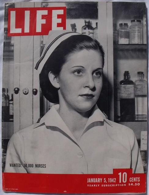 Wanted 50000 Nurses  Life Magazine January 5 1942  Flickr