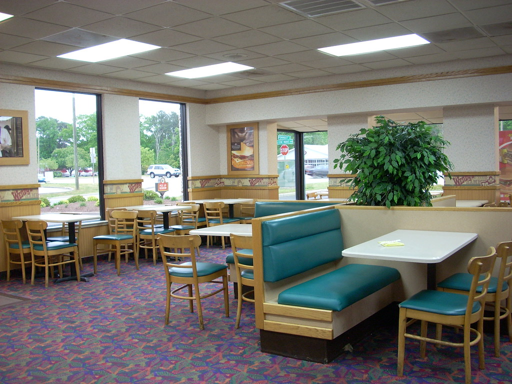 Wendys interior  Wendys 806 2832 square feet 675 J