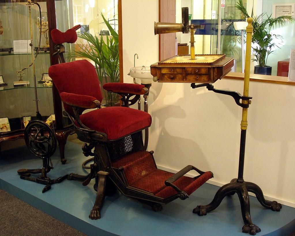antique dentist chairs cape cod beach chair chatham vintage dental at the british association mus