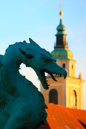 Il simbolo di Lubiana  The symbol of Ljubljana  Slovenia   Flickr