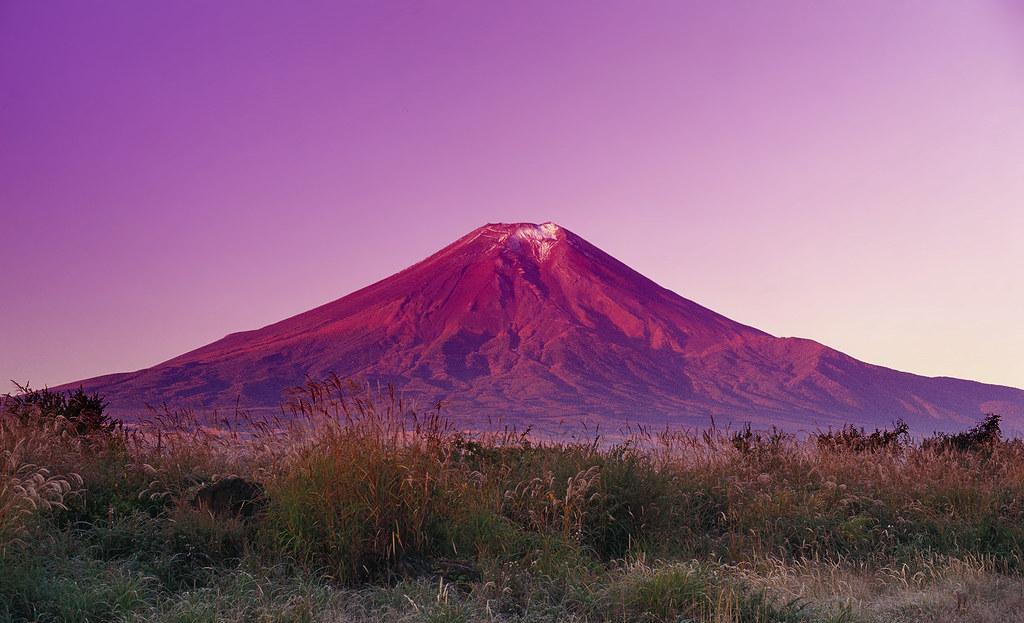Mountain Wallpaper Hd 凱風快晴 Red Fuji After Katsushika Hokusai Mount Fuji