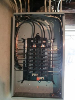 Electrical Panel | This is the insides of a panel neatly