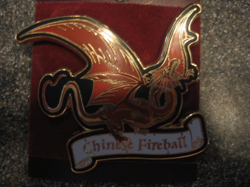 Chinese Fireball Dragon Pin 1095  Inside the Magic  Flickr