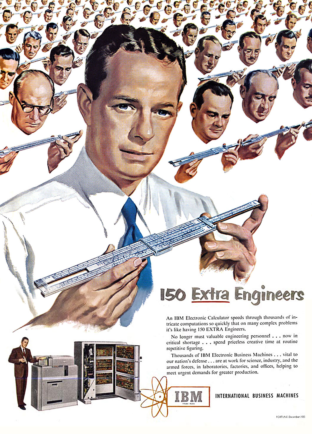 International Business Machines (IBM) - published in Fortune - December 1951