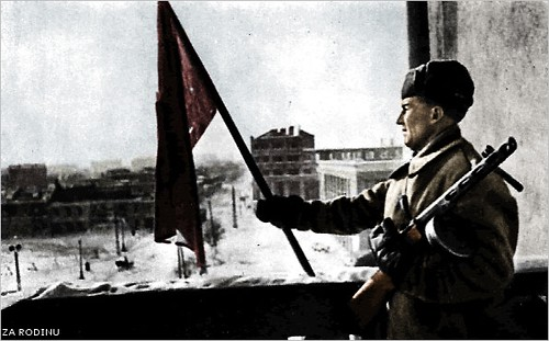 Battle for Stalingrad 1943  victory  Recolored using