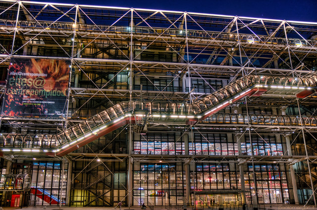 Centre Pompidou Paris France  Centre Georges Pompidou