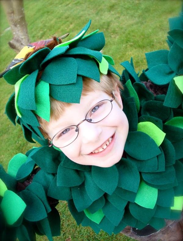 "Handmade Tree Costume Kade' School Play """