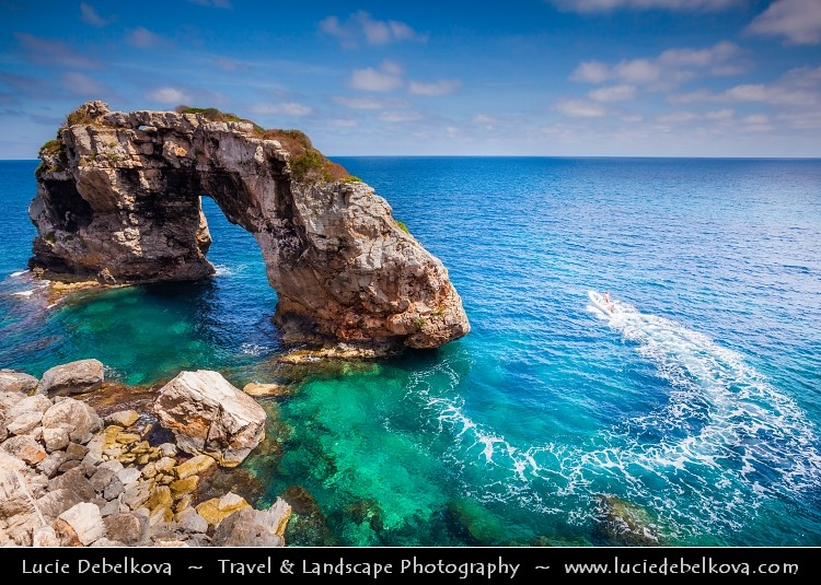 Best 3d Amazing Wallpapers Spain Mallorca Turquoise Waters Of Rock Es Pontas At C