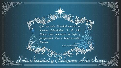 Feliz Navidad Y Prspero Ao Nuevo Aqui Para Toda