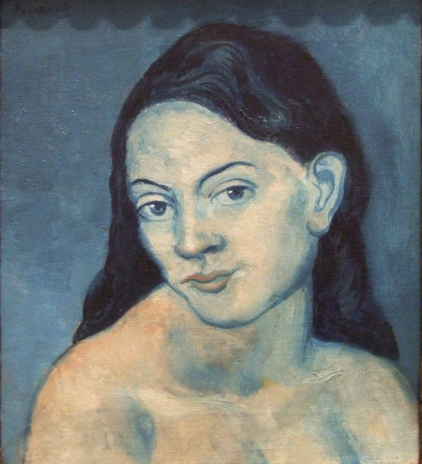 Head Of Woman Pablo Picasso Artist'