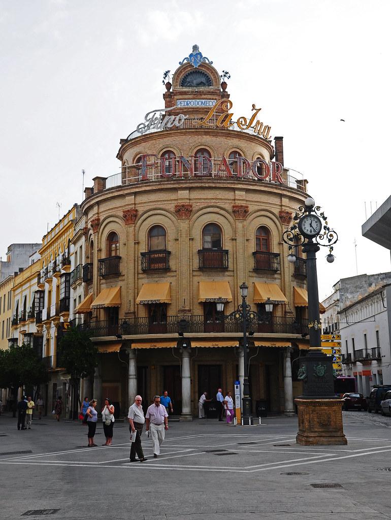 Jerez de la Frontera  Restaurante El Gallo Azul  El Gallo   Flickr