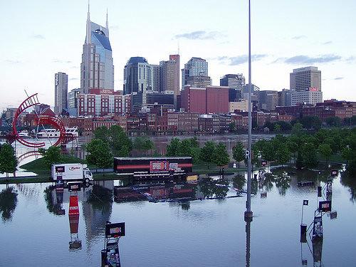 Nashville Flood Map