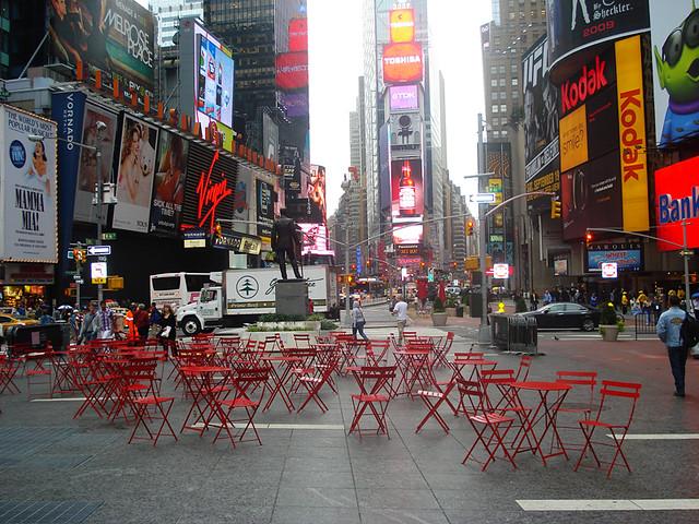 La chaise Bistro  Times Square  Fermob  Flickr