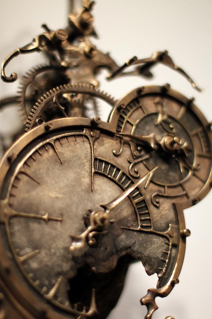 Mechanical Clock 9  by Eric Freitas  STEAMPUNK