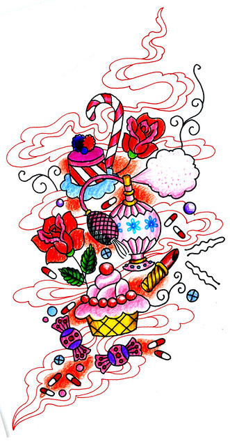 Drawing for Girly Tattoo Sunny Buick Flickr