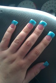 teal nails imperfectsphere