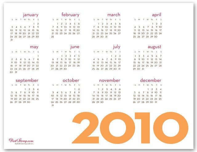 writable calendar