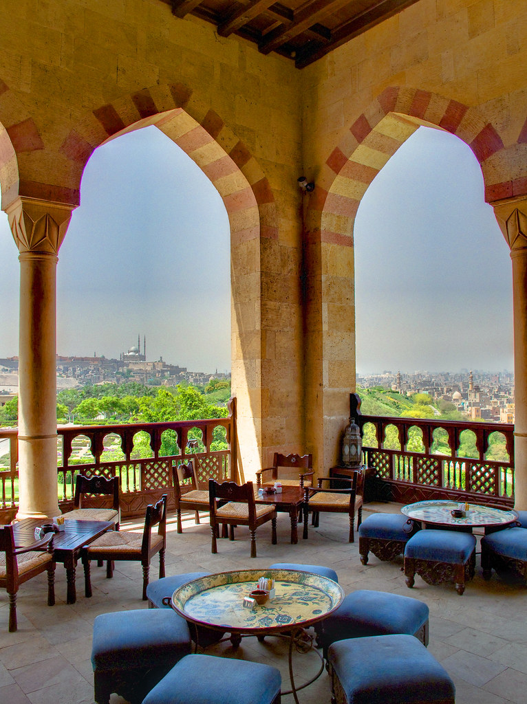 Al Azhar Park Cairo  Citadel View Alain Le Notre