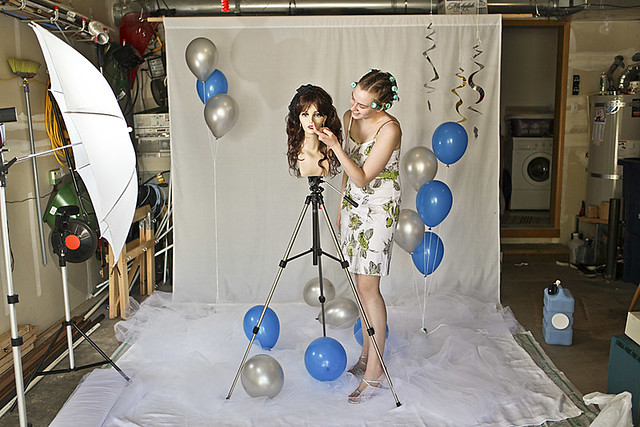 Prom studio setup resized  My daughter wanted her prom phot  Flickr