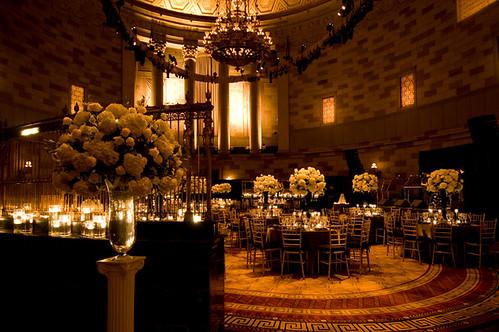 Gotham Hall New York City Wedding Flowers Maya Kalman