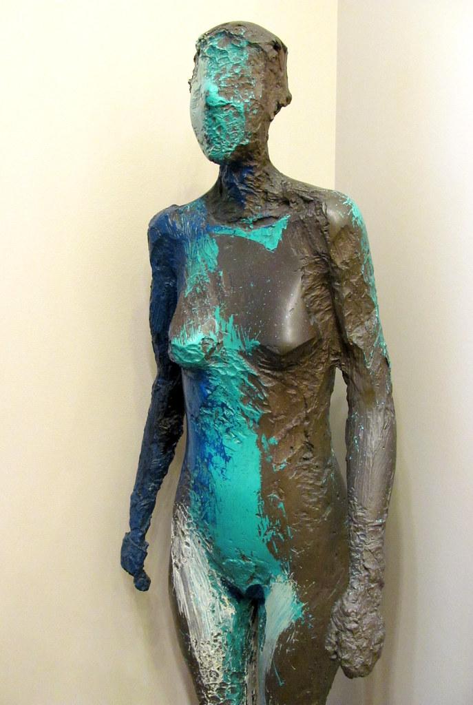 Manuel Neri  Catun No 3 1986 Bronze with oil paint