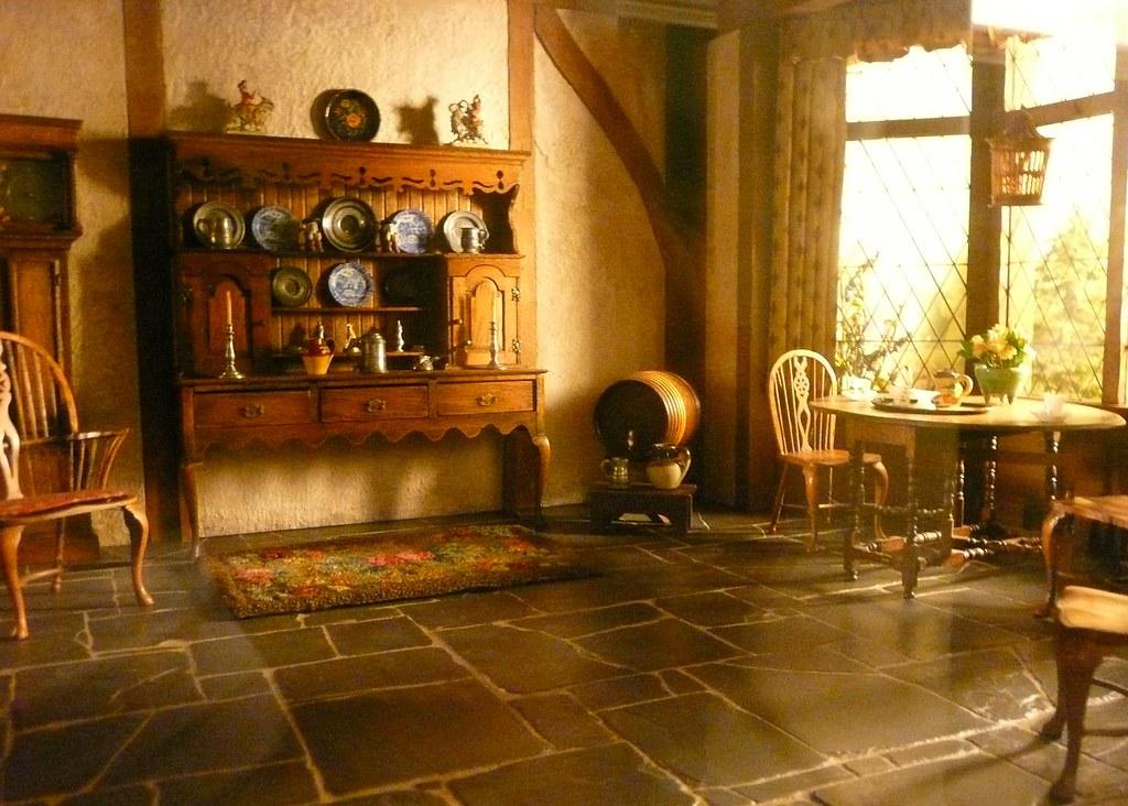 european kitchens green apple kitchen decor art institute ~ thorne miniature rooms - english cottage k ...