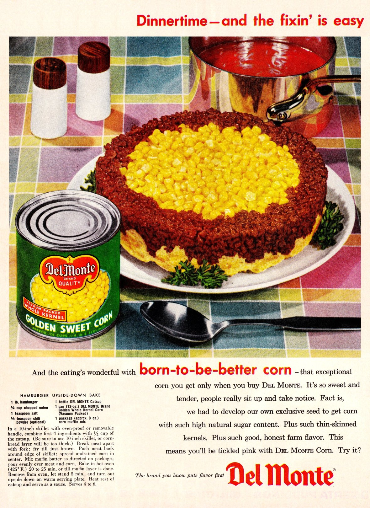 Del Monte - published in The American Home - May 1956