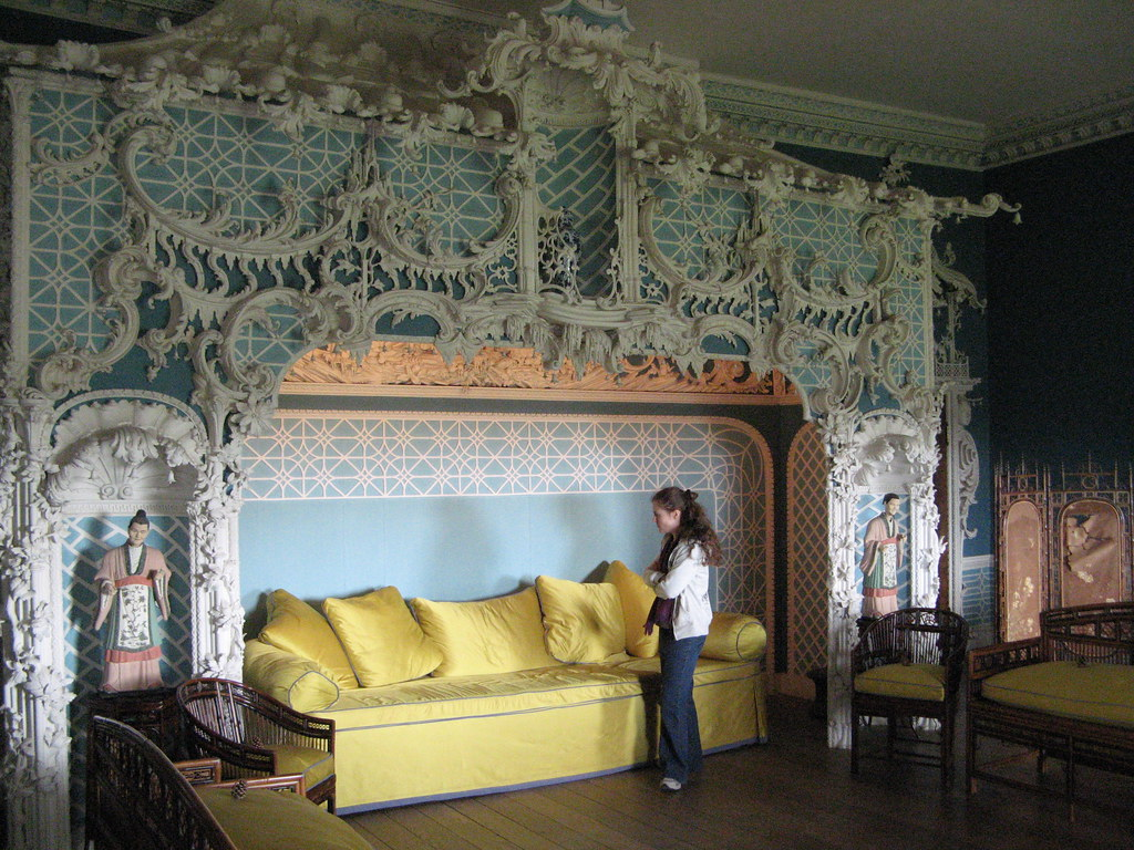 Chinese Room Claydon House The Chinese Room Carved By