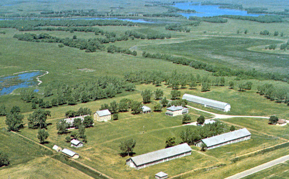 Fort Sisseton Marshall County  Location SE of Britton
