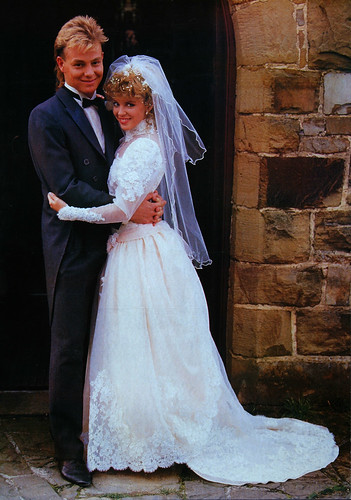 Charlenes Wedding dress Q198946  Grundy Productions