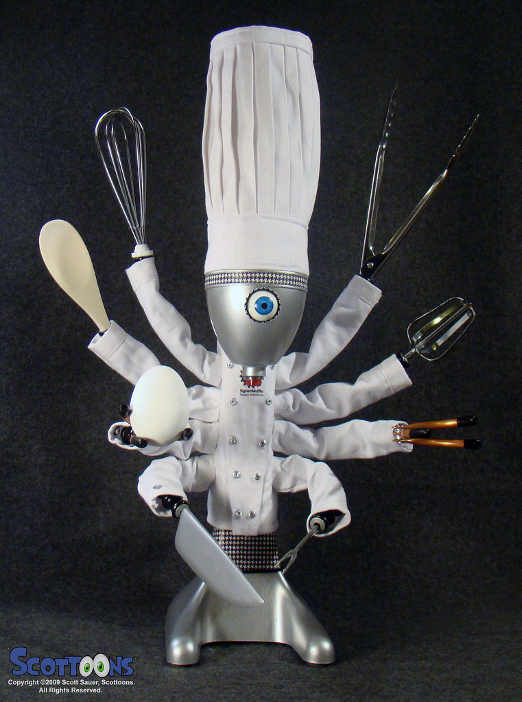 ChefBot robot chef and cyber cook  Meet ChefBot from