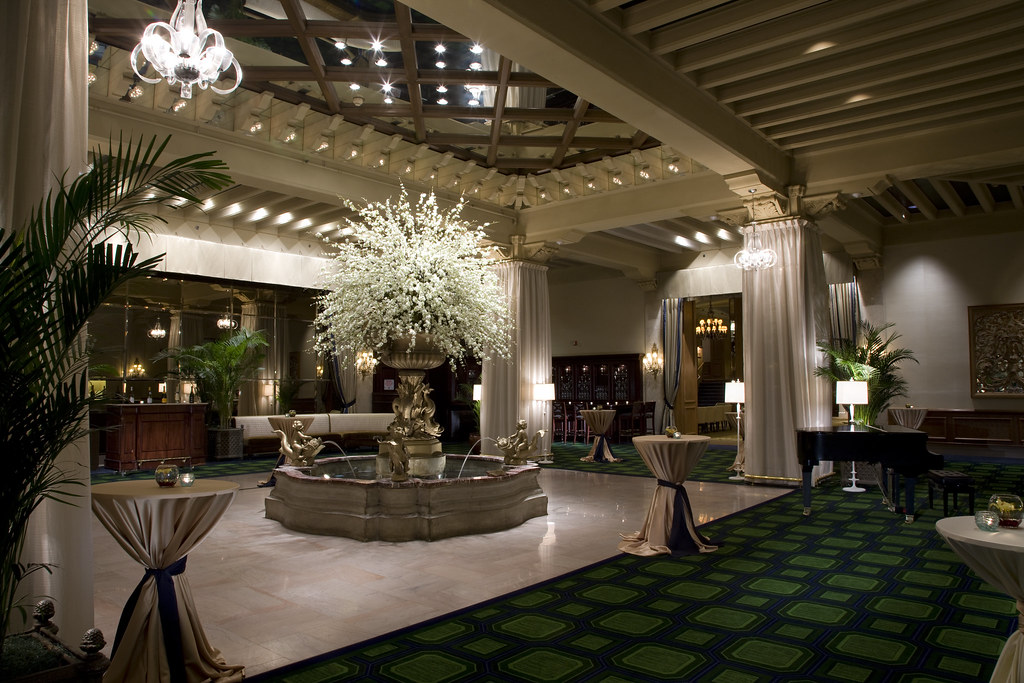 Palm Court Event  Event at The Drake Hotel Chicagos