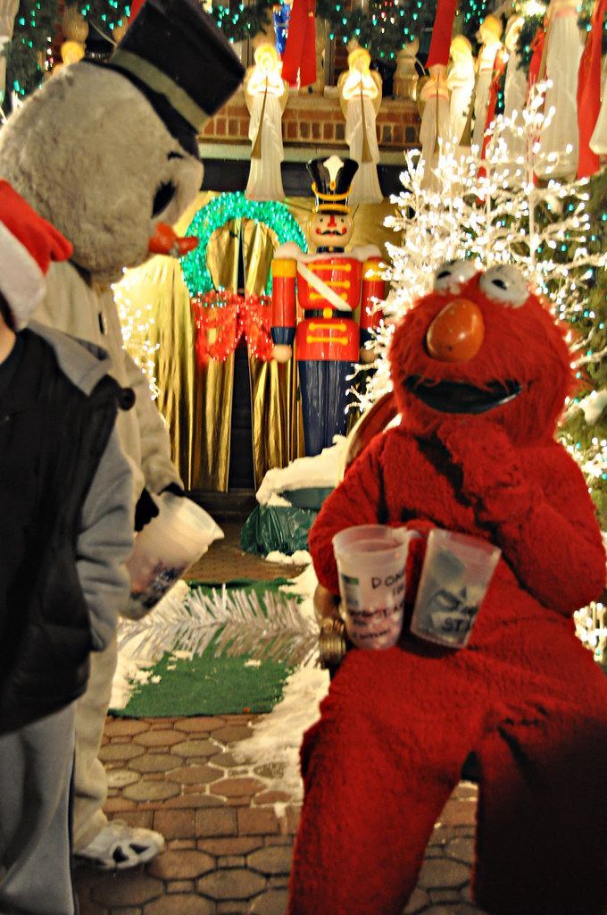 Crazy Elmo Plays Santa  Remember Elmo Well hes become