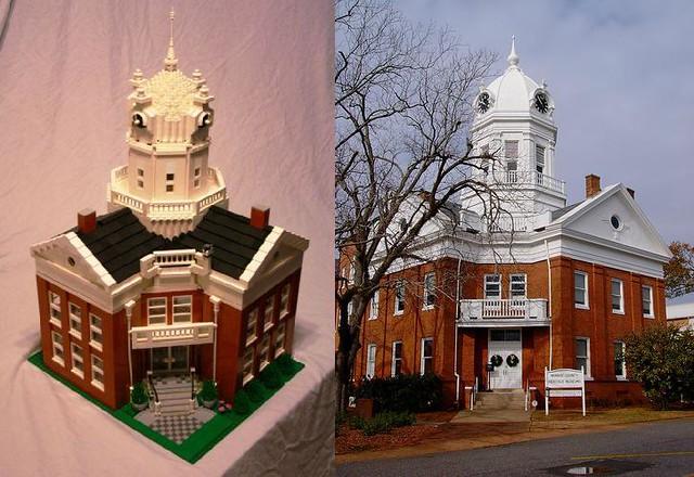 Lego Monroe County Courthouse To Kill A Mockingbird 1