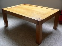 Josh's coffee table | Awesome solid wood coffee table that ...