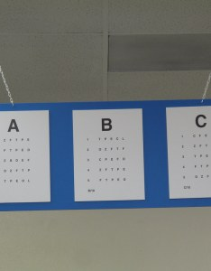 Dmv eye charts by defndaines also the same chart is hanging up  flickr rh