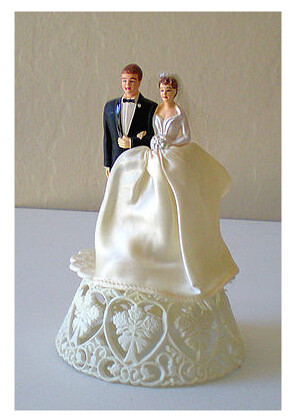 Wedding Cake Topper This Is Our Vintage Wedding Cake