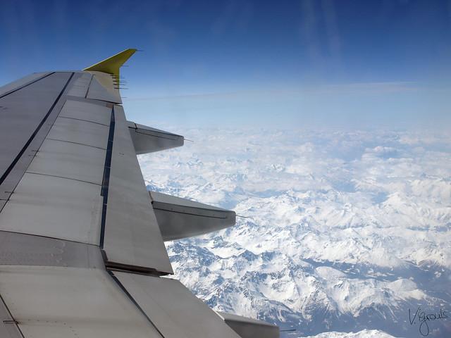 erster Flug